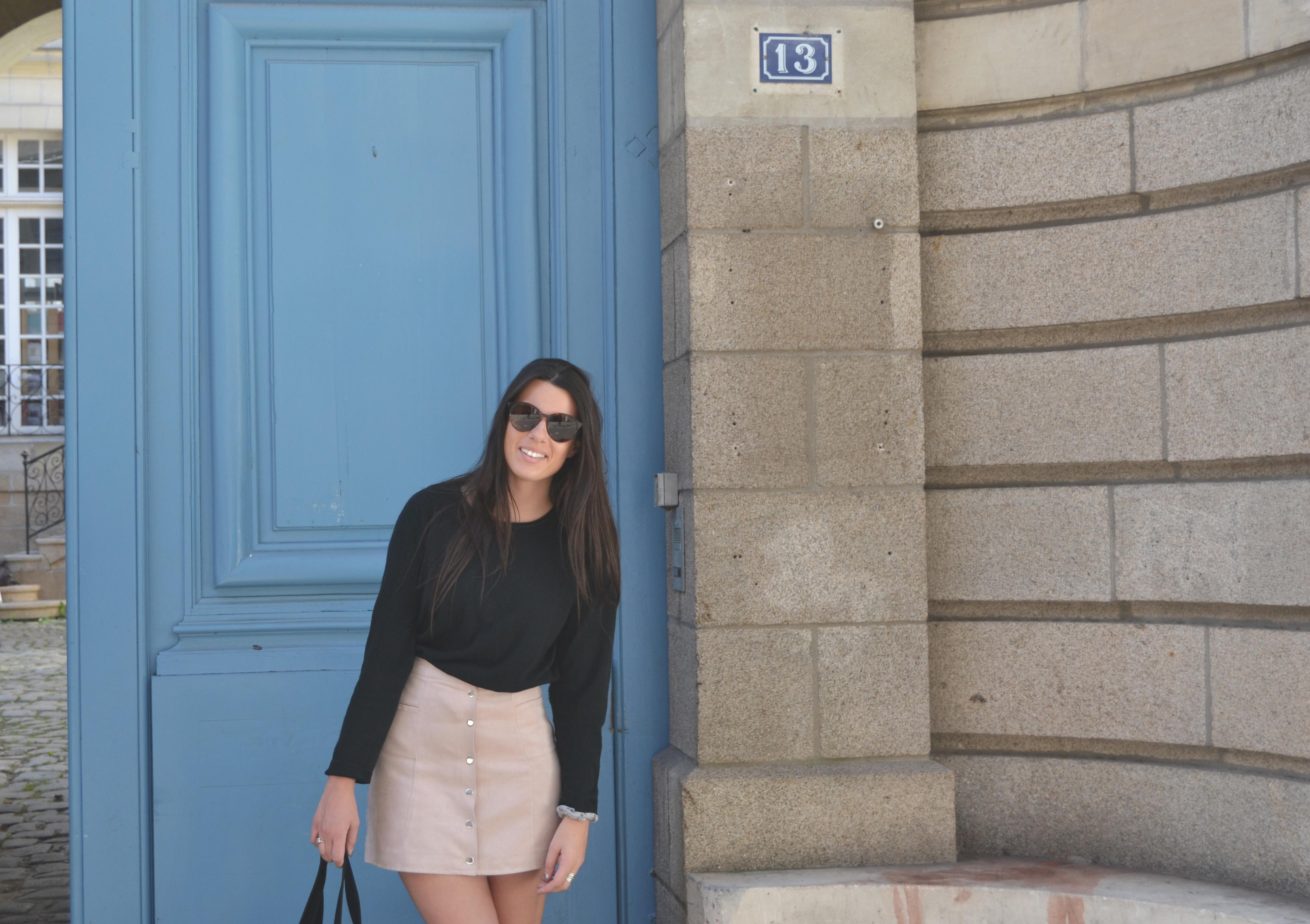De rose et de bleu - ma jupe rose
